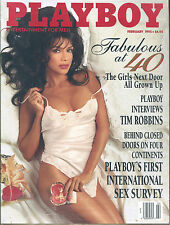 Playboy-February, 1995-Lisa Marie Scott, Tim Robbins