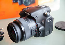 Sony DSLR Alpha SLT-A58 20,1 MP mit Sony SAM 18-55 f 3,5-5,6 Objektiv.