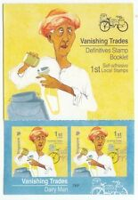 SINGAPORE 2015 VANISHING TRADE 1ST LOCAL DAIRY MAN 7TH REPRINT 2014H BOOKLET MNH