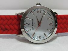 Liz Claiborne New York Reversible Color Block Watch