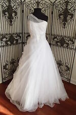 39 ALFRED ANGELO 2388 WHITE SZ 16 $680  FORMAL WEDDING GOWN DRESS