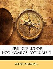 Principi di economia, volume 1 da Marshall, Alfred