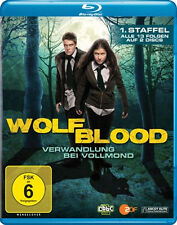 WOLFBLOOD - VERWANDLUNG BEI VOLLMOND - Staffel 1 WERWOLF TV-SERIE BLU-RAY Neu