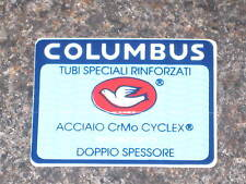 NOS GENUINE Columbus Frame Decalcomania-EX Frame Builder STOCK