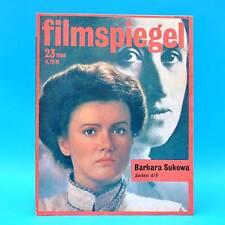 DDR Filmspiegel 23/1986 Otto Waalkes Wolfgang Dehler Louise Brooks Irene Papas D