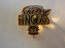 Pin - Sticky Fingers Cafe London - Bill Wyman Rolling Stones HTF