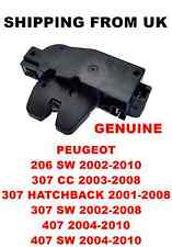 OE TAILGATE CENTRAL LOCKING ACTUATOR LATCH PEUGEOT 206 SW 307 CC SW HB 407 SW