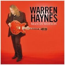 WARREN HAYNES  - MAN IN MOTION  CD