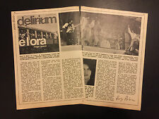 AF41/42 Ritaglio Magazine Clipping 23x16 cm - DELIRIUM THE WHO CRISTIAN DE SICA