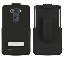 OEM Seidio Surface Combo Holster&Case Cover For LG Optimus G3 Black VS985 D855