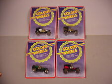 4 Golden Wheels toy car MIP plastic & diecast metal  Antique models MOC