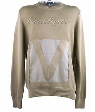 NEW LOUIS VUITTON MEN GASTON EMBROIDERED CREWNECK SWEATER SWEATSHIRT RARE XXL