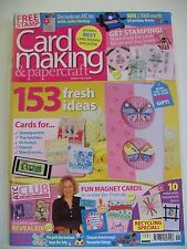 Magazine. Card Making & Papercraft. Issue 41. July 2007. 153 Fresh Ideas.