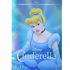 CINDERELLA - DISNEY - LIMITED EDITION O RING WITH DVD - NEW / SEALED