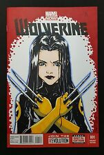 """WOLVERINE #001 BLANK SKETCH VARIANT COVER AUTHENTIC 1/1 """"X-23"""" ARTWORK By CARY"""