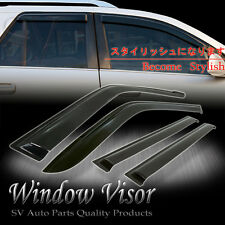 Window Vent Visors Wind Deflector Shade Toyota Sienna 2004-2007 2008 2009 2010