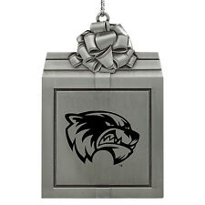 Utah Valley University -Pewter Christmas Holiday Ornament-Silver