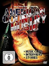 AMERICAN COUNTRY MUSIC  DVD NEU