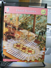 SPRING BLOSSOMS FLORAL BEAUTIES CROCHET PATTERN HOUSE OF WHITE BIRCHES DOILY