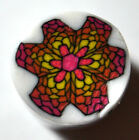 Fimo polymer clay millefiori flower cane nail art by orly