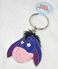 NEW QUALITY METAL WINNIE THE POOH & FRIENDS SHAPED KEYRING EEYORE FACE