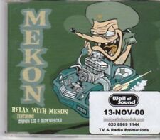 (BU389) Mekon, Relax With Mekon - 2000 DJ CD