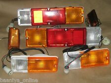 Suzuki SJ Samurai Front & Rear / Tail Lights Lamps Set 85 86-95 New Free Ship