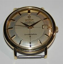Omega Constellation Automatic Chronometer  Date  Watch  Ω 561  Gold Capped SS