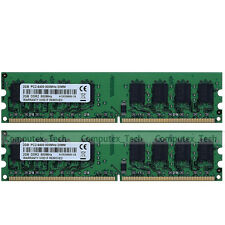 New 4GB 2x2GB PC2-6400 DDR2-800 240pin Dekstop Memory For Intel G945 G31 G33