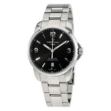 Certina DS Podium Automatic Black Dial Mens Watch C0344071105700