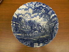 "MYOTT CHINA ""ROYAL MAIL"" BLUE ROUND VEGETABLE BOWL 8 3/8"""