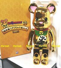 Medicom Skytree 2017 Bearbrick Lucky Cat Golden 1000% Neko Gold Be@rbrick 1pc