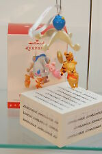 BABY'S FIRST CHRISTMAS~2016 HALLMARK ORNAMENT~WINNIE THE POOH~FREE SHIP IN US