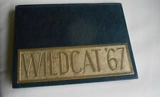 Los Gatos High School Yearbook Annual  1967 Wildcat
