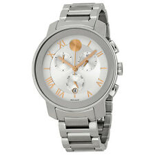 Movado Bold Stainless Steel Unisex Watch 3600205-AU