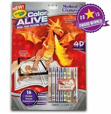 Crayola Colour Alive (Color Alive) - Mythical Creatures with Crayons
