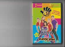 HI 5 FIVE ALIVE AND PLAYING COOL DVD KIDS 2 DISCS HI FIVE