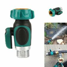 Single Garden Lawn Water Hose Connector Pipe Faucet Watering Splitter Supplies
