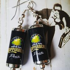 Unique KOPPARBERG CANS EARRINGS handcrafted CIDER fruit PEAR miniature GIFT