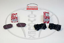 LEXUS LX570 TOYOTA LANDCRUISER OEM TOYOTA FACTORY FRONT& REAR BRAKE PADS KIT