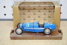 """1/43 Brumm r41 1933 Bugatti """"tipo 59"""" w/Display Case"""