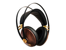 Meze 99 Classics High End Over Ear Kopfhörer Headphones, Walnuss/Gold