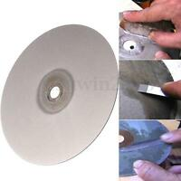 6'' Diamond Coated Flat Lap Wheel Lapidary Polishing Grinding Disc Grit 500#