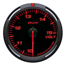 Defi Racer Gauge 60mm Voltage Meter DF11902 Red