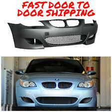 2004-2007 BMW E60 M5 STYLE FRONT BUMPER W/ AIR DUCT S 5 SERIES WITH PDC