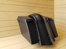 HARLEY DAVIDSON SOFTAIL 4¨STRETCHED SADDLEBAGS-LIDS AND REAR OVERLAY FENDER FL