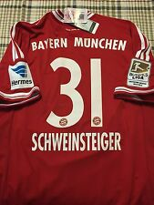 Germany bayern Munich Shirt S,M,L,XL Schweinsteiger Trikot jersey Fifa Patch