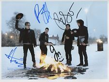 Fall Out Boy SIGNED Photo 1st Generation PRINT Ltd 150, No.'d + Certificate / 3