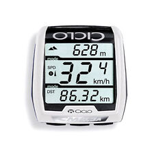 CICLOSPORT CM 9.3 A CYCLE COMPUTER WIRELESS RADIO-BIKE SPEEDOMETER ALTIMETER PC