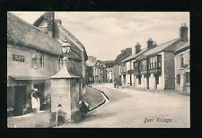 Devon BEER Village Water Fountain 1908 PPC James Accland Wagonette by Frith